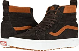 Vans sk8 hi aged leather brown  adb7f6781