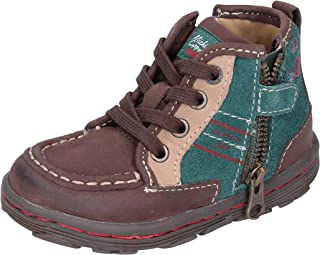 Geox Sneaker Bambino Pelle Nubuck Marrone