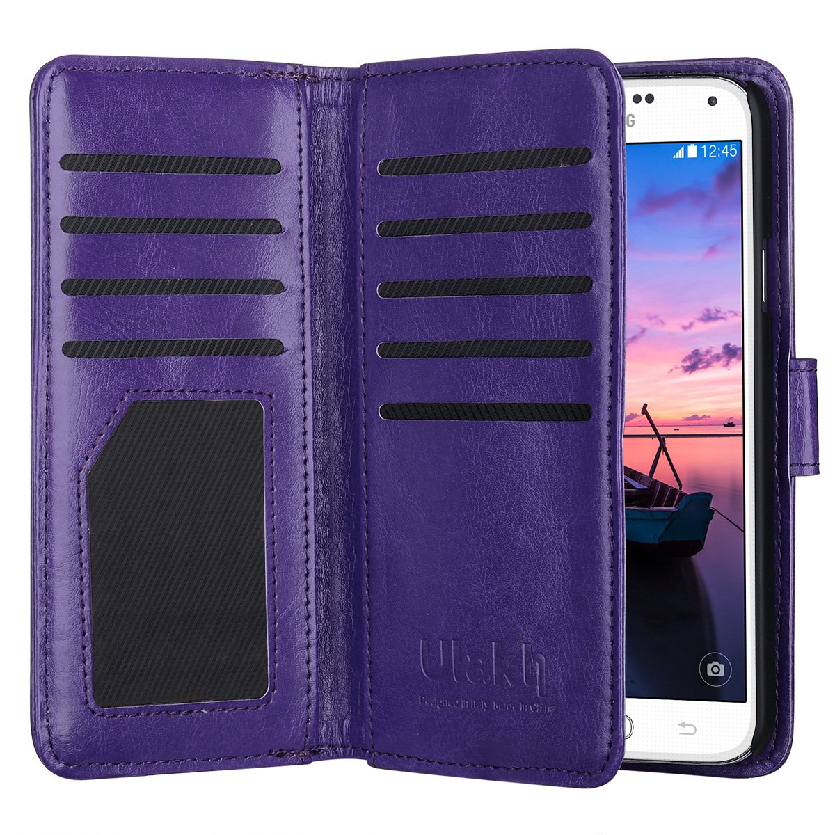 samsung galaxy s5 wallet cell phone cases amazon comulak galaxy s5 case, samsung s5 wallet case, fashion pu leather magnet wallet flip