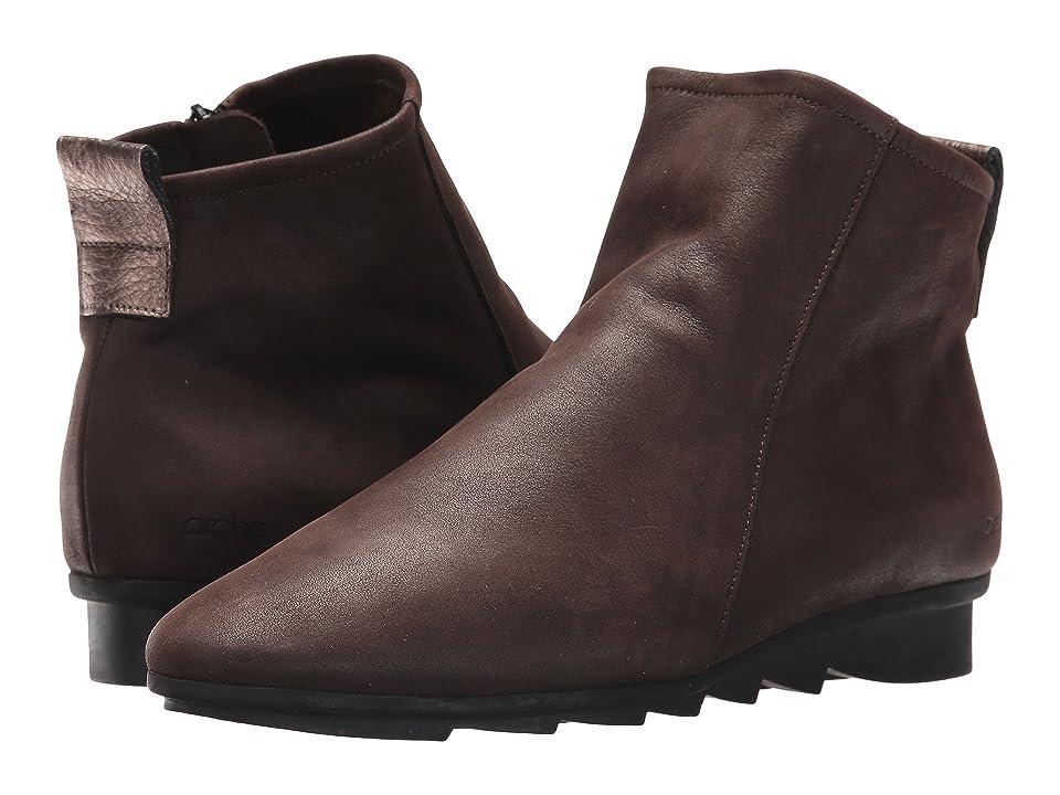 Arche Bibiki (Truffe/Micas Waxed Leather) Women