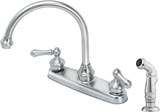 Best stainless steel kitchen faucet with side spray Reviews