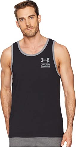 UA Stacked Left Chest Tank Top