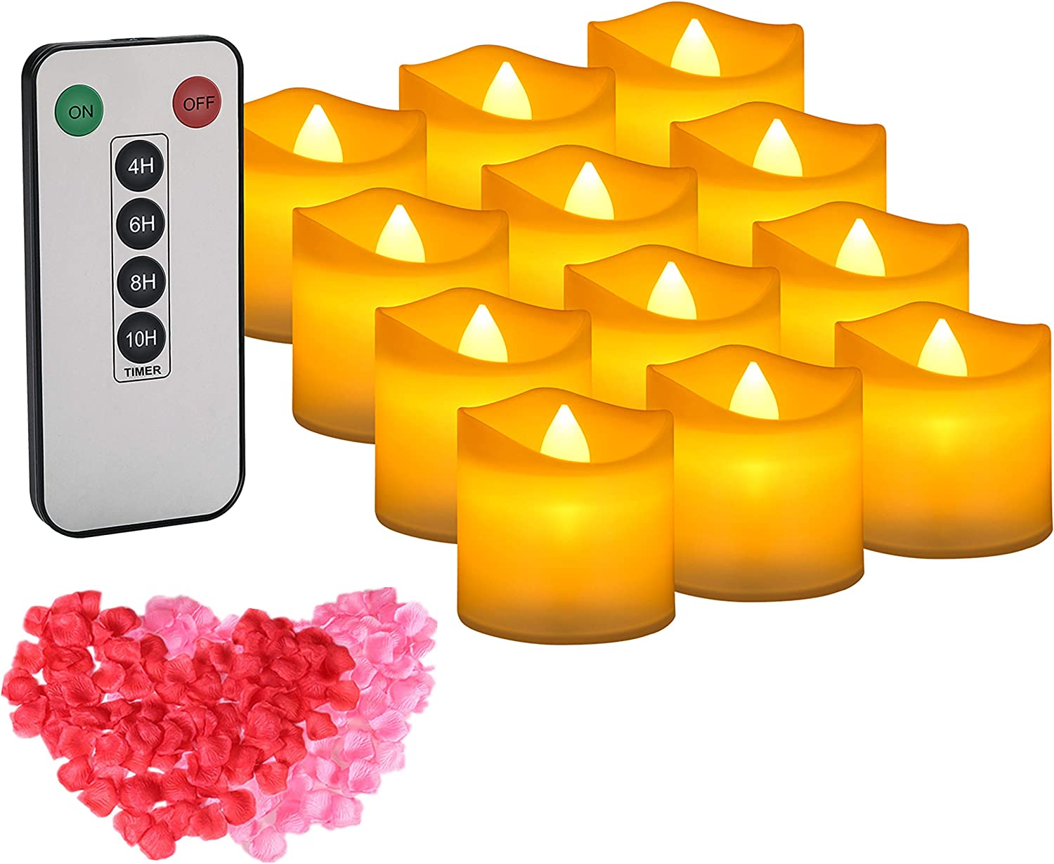 Tea Lights IMAGE Tealight Candles Control and Timer with Max 56% OFF 2021new shipping free shipping Remote