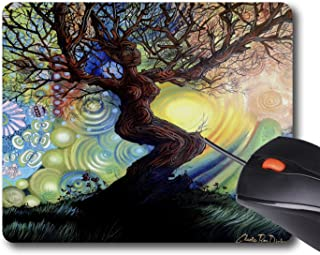 AOFFLY Cherie Roe Dirksen - Tree of Life - Celebration - Non-Slip Rubber Mousepad Gaming Mouse Pad