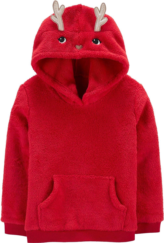 Carter's Kid Holiday Fleece Pullover Hoodies