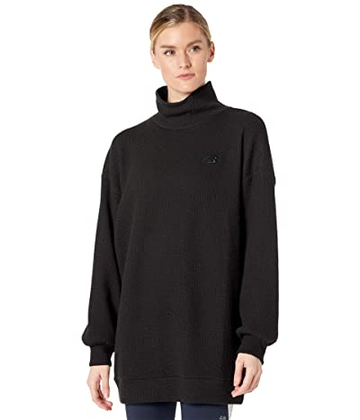 New Balance Transform Spring Loft Pullover (Black) Women