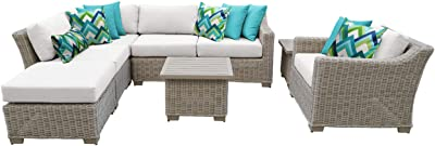 Amazon.com : Mcombo Aluminum Patio Furniture Sectional ...