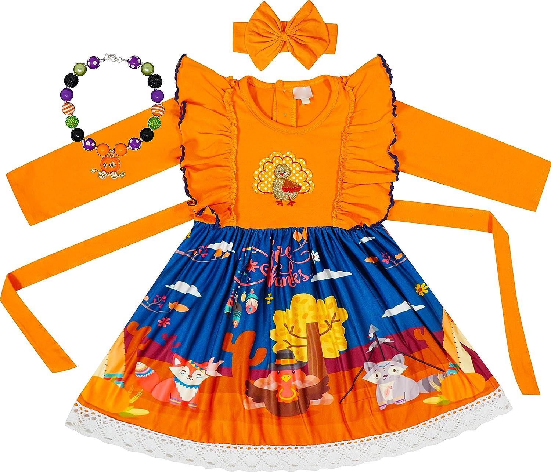Boutique 5 popular Clothing Girls Fall Winter Portland Mall Thanksgiving Holidays Dress