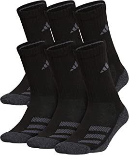 Kids-Boy's/Girl's Cushioned Crew Socks (6-Pair)