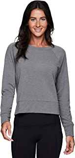 RBX Active Women's Fashion Athleisure Long Sleeve Sweater Lightweight Pullover Sweatshirt