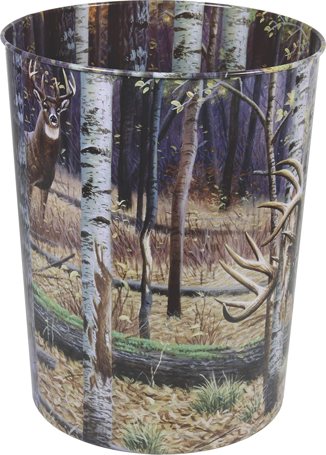 River's Edge Products Waste Basket 1577, Multicolor, One Size