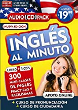 Inglés En 100 Días - Inglés Al Minuto - Audio Pack (Libro + 4 CD's Audio) / English in 100 Days - English in a Minute Audio Pack