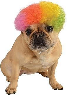 شعر مستعار للحيوانات الاليفة من روبيز، متوسط الى كبير، بالوان قوس مطر افرو