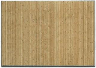 casa pura Alfombra de Bambú - Alfombras Naturales   Marigold   Estera de bambú Antideslizante   Varios tamaños a Elegir (Natural, 150x200 cm)