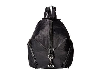 Rebecca Minkoff Julian Nylon Backpack (Black) Backpack Bags
