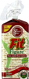Smartbite Snacks Thin All Natural Gluten-Free Brown Rice Cakes, 4.9 Oz (Pack of 12)