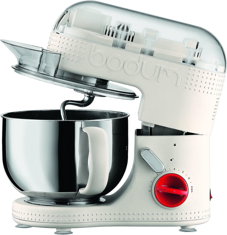 Bodum - 11381-913EURO-3 - Bistro - Robot de Cuisine Electrique - Blanc - 4,7 L - 700 W Blanc