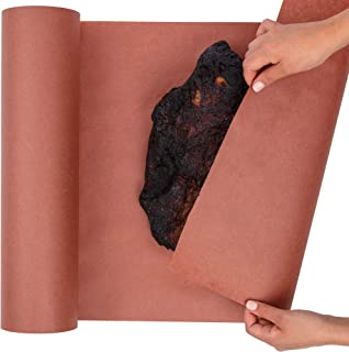 Pink Butcher Paper for Smoking Meat - Peach Butcher Paper Roll 18 by 200 Feet (2400 Inches) - USA Made, Fda Approved