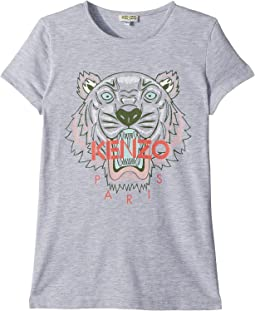 Kenzo Kids - Tee Shirt Classic Tiger (Big Kids)