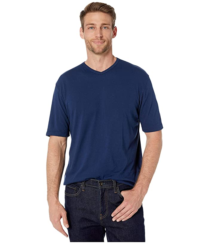 1960s – 70s Mens Shirts- Disco Shirts, Hippie Shirts Mod-o-doc San Diego Short Sleeve V-Neck Naval Mens T Shirt $26.50 AT vintagedancer.com