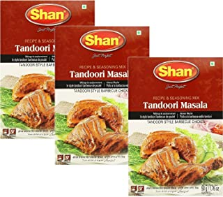 Shan - Tandoori Masala Seasoning Mix (3 PACK), 50g x 3