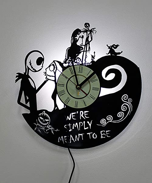 Home Crafts Nightmare Before Christmas Wall Lamps Night Light Function Original Decor