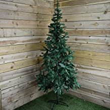 GLYHOME Artificial Realistic Natural Branches Pine Christmas Tree Xmas 4FT, 6FT,7FT Artificial Pine Tree Plastic Christmas Tree Fake Christmas Tree Artificial Christmas Trees (Size : 7ft (210cm))