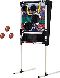 Franklin Sports Kids Football Target Toss with Mini Footballs - Indoor Football Passing Game for Kids - Football Passing T...