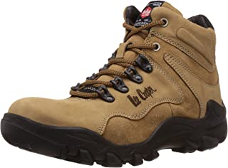 Lee Cooper Men's Leather Trekking and Hiking Boots