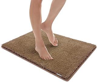 MICRODRY Soft & Cozy Memory Foam Bath Mat with GripTex Skid Resistant Base 17x24 Acorn