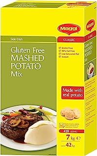 MAGGI Classic Gluten Free Mashed Potato Instant Mix, 7kg (Makes 42 kg, 420 Serves)