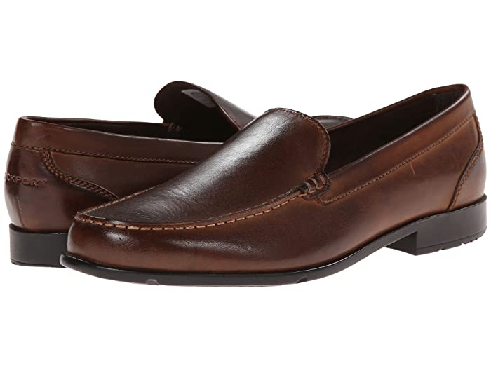 Rockport  Classic Loafer Lite Venetian (Dark Brown) Mens Slip on  Shoes
