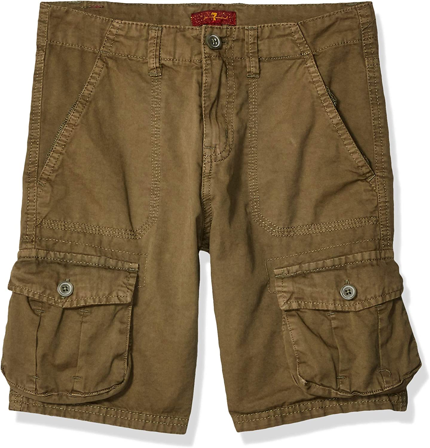 7 For All Mankind Boys' Washed Cargo Twill Short