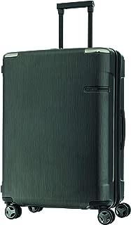 Samsonite 92054 EVOA Expandable Hard Side Spinner Suitcase, Brushed Black, 69 Centimeters