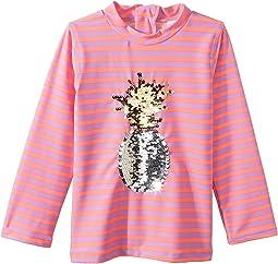 Pineapple Long Sleeve Rashguard (Toddler)