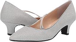 Silver Glitter Fabric