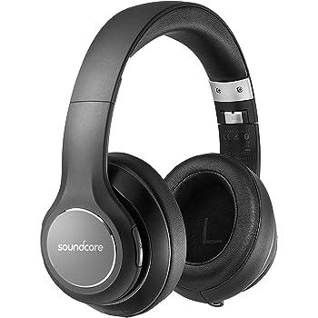 Anker Soundcore Vortex(Bluetooth4.1対応オーバーイヤー型ヘッドホン)【20時間連続再生 / 内蔵マイク/形状記憶イヤーカップ 】