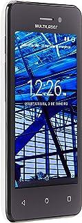 Smartphone Multilaser Ms40S Branco 4 Câmera 3 Mp + 5 Mp 3G Quad Core 8Gb Android 6.0 - NB252