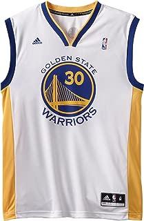 adidas NBA Stephen Curry Golden State Warriors Revolution 30 Performance Jersey - White