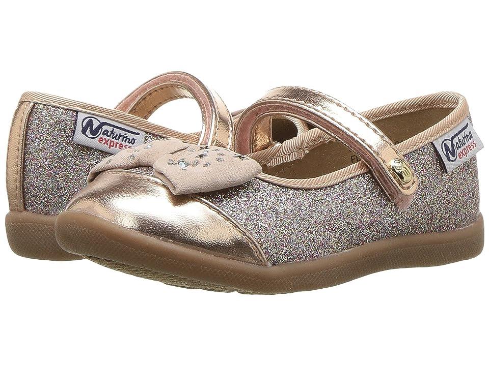 Naturino Express Luciana (Toddler/Little Kid) (Rose Gold) Girls Shoes