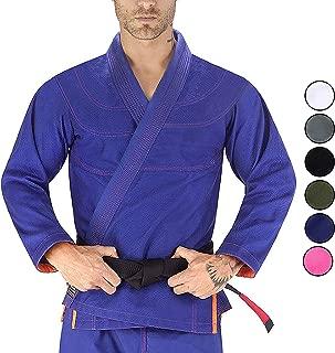 Elite Sports Essential IBJJF Ultra Light Brazilian Jiu Jitsu Adult BJJ Gi W/Preshrunk Fabric & Free Belt