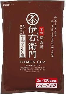 宇治の露 伊右衛門 炒り米入りほうじ茶 ティーバッグ 2g×120P