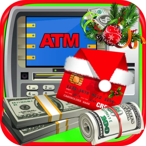 Christmas ATM Simulator - Kids Money Machine & Credit Cards FREE