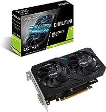 ASUS Dual NVIDIA GeForce GTX 1650 Mini OC Edition Gaming CSM Graphics Card (PCIe 3.0, 4GB GDDR6 Memory, HDMI, DisplayPort,...