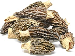 Dried Morel Mushrooms by Slofoodgroup (Morchella Conica) Gourmet Morel Mushrooms Various Sizes of Morels Available (2 oz Dried Morels)
