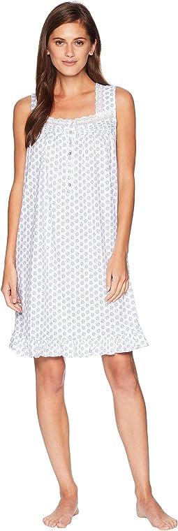 Sleeveless Short Nightgown