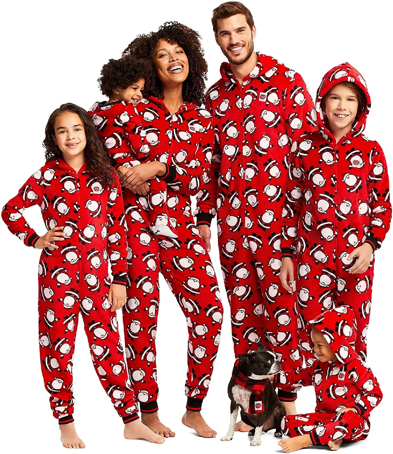Family Matching Pajamas New product type Set Sleepwear Fleece Christmas Parent-Ch Sales for sale