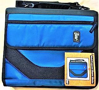 "American Studio Tech Gear Muli-Purpose Zipper Binder 2"" D-Rings - Royal Blue"