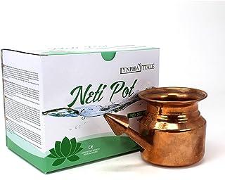 Neti Pot en Cobre para Limpiar y Desinfectar las fosas nasal