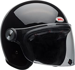 Bell Riot Flip-Up Motorcycle Helmet (Solid Gloss Black, Large)